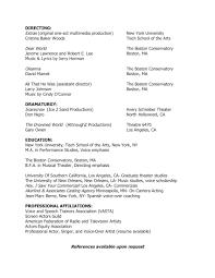 teaching directing resume cristina baker woods cristina baker woods teaching directing resume pdf