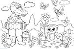 Раскраски детские для принтера