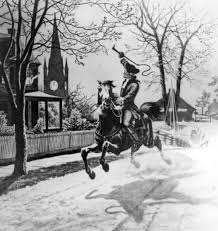 colonial rebellion history hub paul revere s ride national archives