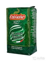 <b>Кофе зерновой Carraro</b> Globo Verde купить в Ростовской области ...