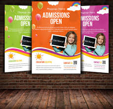 admission open flyer template flyer templates on creative market