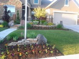 flag pole flower bed bedroommagnificent lush landscaping ideas