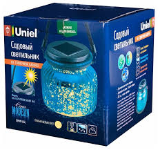 Купить <b>Uniel Светильник</b> садовый <b>USL</b>-<b>M</b>-<b>210</b>/<b>GN120 BLUE</b> JAR ...