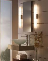 modern bathroom track lighting is used not for decoration but for its intended purpose this combination will fill the bathroom with tranquility bathroom lighting sconces contemporary bathroom