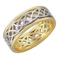Золотое обручальное парное <b>кольцо Эстет 01O060236ZH</b> ...
