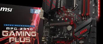 Обзор <b>материнской платы MSI MPG</b> Z390 Gaming Plus ...