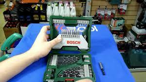 <b>Bosch X</b>-<b>Line</b> 43 набор оснастки для шуруповерта - YouTube