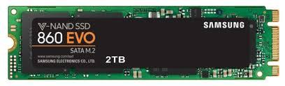 Твердотельный <b>накопитель</b> Samsung 860 EVO <b>2000 GB</b> (MZ ...