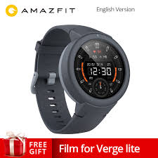Global Version <b>AMAZFIT Verge Lite</b> Smartwatch 20 Days Battery ...