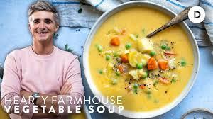 THE <b>VEGETABLE SOUP</b>! Irish Farmhouse <b>Vegetable Soup</b> Recipe ...