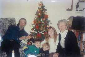the people who have kept us afloat robertboltondotorg christmas a long time ago woodbrook bray co wicklow bob nephews michael and iain angela and mother in law mrs fealy