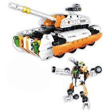"""<b>Конструктор</b> 2 в 1 """"<b>CaDa Technic</b> - <b>Робот</b>-танк"""", 294 детали ..."""