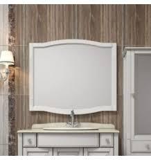 <b>Зеркало Opadiris Лаура 100</b> белый без патины- купить в ...