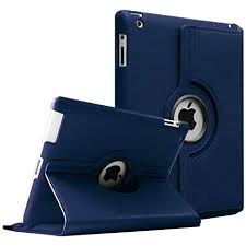 Shoppers point <b>360 Degree Rotating PU</b> Leather Flip Case Cover for...