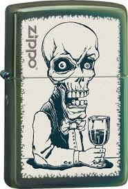 Зажигалка ZIPPO Skeleton, латунь с покрытием <b>Chameleon</b> ...