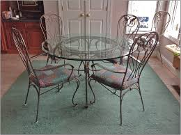 dining tables wrought iron kitchen black  interior round glass top table with black iron legs combined wi