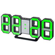 <b>Perfeo</b> LED <b>часы</b>-будильник «<b>LUMINOUS</b>» черный корпус ...