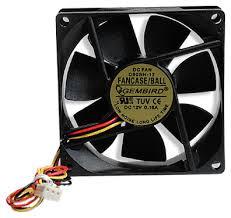 Купить недорого <b>Вентилятор</b> корпусной <b>Gembird FANCASE3</b> ...