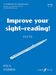 flute grades and improve your sight reading amazon co uk improve your sight reading flute grade 1 3