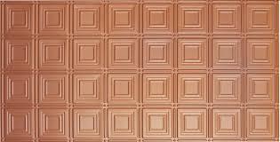 sagging tin ceiling tiles bathroom: copper see x of each design
