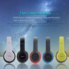 <b>P47</b> Wireless <b>Bluetooth V5</b>.0 Headphones Stereo Headset Noise ...