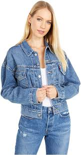 <b>Levi's</b> Women's <b>New Heritage</b> Trucker Jacket at Amazon Women's ...