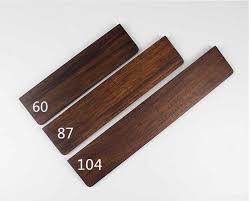 <b>Wooden Wrist Rest</b> Walnut Wenge <b>wood</b> feet for <b>mechanical</b> ...