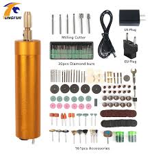 <b>TUNGFULL Dremel</b> Tools <b>Mini</b> Electric Drilling Machine USB Motor ...