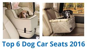 6 Best <b>Dog Car</b> Seats <b>2016</b> - YouTube