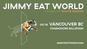 <b>Jimmy Eat World</b> - POSTPONED — The Commodore Ballroom