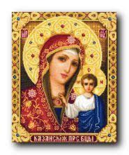 <b>Набор для вышивания Solaria</b> Gallery 1112-74KV Казанская Св ...