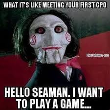 Meeting a Chief for the first time - Navy Memes - clean mandatory fun via Relatably.com