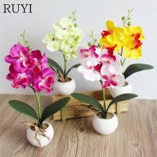 <b>1 pcs Artificial</b> Butterfly Orchid Artificial Miniascape/Bonsai/Potted ...