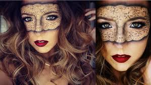masquerade lace mask makeup tutorial ashley landry you