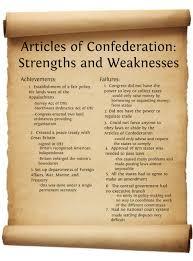 articles of confederation articles of confederation strengths articles of confederation articles of confederation strengths and weaknesses publish