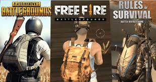 Battle Royale vs. Battle Royale: <b>Free Fire</b>, PUBG, and ROS ...