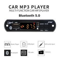 YES  USB <b>3.5mm AUX</b> Bluetooth FM Radio V5.0 Wireless Receiver ...