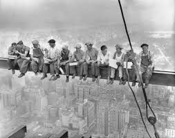 "Labor Day: ""<b>Lunch atop a Skyscraper</b>,"" was a staged photo of New ..."