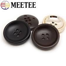 2019 <b>Meetee</b> 16 28mm <b>High Quality</b> Plastic Buttons Round Hole ...
