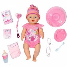 <b>Кукла</b> интерактивная <b>Zapf</b> Creation <b>Baby born</b> Девочка 43 см ...