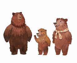 Image result for three bears clip art