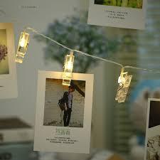 BRELONG LED Photo Clip Light <b>3M 20LED</b> Warm White Light ...