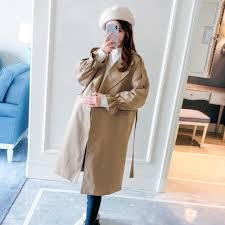 Pregnant women wearing jacket <b>2018 autumn new fashion</b> ...