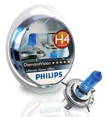 Галогенная <b>лампа PHILIPS Diamond</b> vision H4 12V 60/55W купить ...