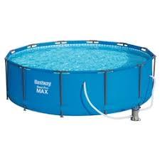 «<b>Каркасный бассейн Bestway</b> круглый 305х100 см, <b>Steel</b> Pro ...
