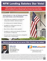 nfm lending addy jolly veterans affairs