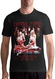 Kina D Wilson Cannibal Corpse T Shirt Men's Casual ... - Amazon.com