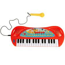 """<b>Синтезатор</b> с микрофоном, звуком и светом """"Щенячий патруль"""""""
