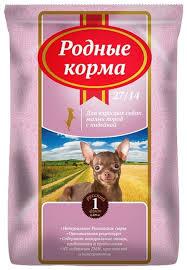 Корм для собак <b>Родные корма</b> Сухой <b>корм для взрослых</b> собак ...