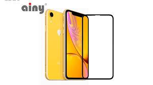 5D <b>защитное стекло Ainy</b> для iPhone XR купить в Калининграде ...